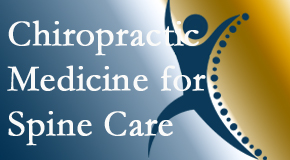 Aaron Chiropractic Clinic offers chiropractic spinal manipulation as recommended for spine pain relief and appreciated by Fort Wayne chiropractic patients.
