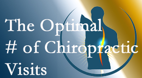 It's up to you and your pain as to how often you see the Fort Wayne chiropractor.