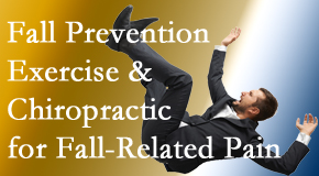 Aaron Chiropractic Clinic presents new research on fall prevention strategies and protocols for fall-related pain relief.