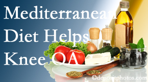 Aaron Chiropractic Clinic shares recent research about how good a Mediterranean Diet is for knee osteoarthritis as well as quality of life improvement.
