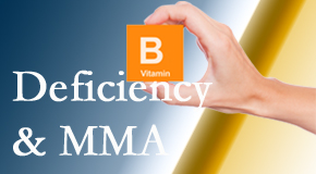 Aaron Chiropractic Clinic knows B vitamin deficiencies and MMA levels may affect the brain and nervous system functions.