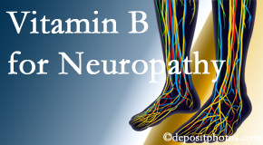 Aaron Chiropractic Clinic appreciates the benefits of nutrition, especially vitamin B, for neuropathy pain along with spinal manipulation.
