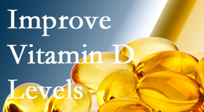 Aaron Chiropractic Clinic explains that it's beneficial to raise vitamin D levels.