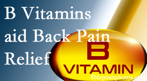 Aaron Chiropractic Clinic may include B vitamins in the Fort Wayne chiropractic treatment plan of back pain sufferers.