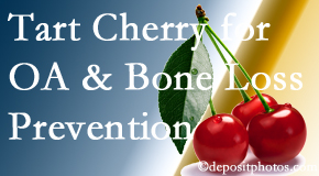 Aaron Chiropractic Clinic shares that tart cherries may improve bone health and prevent osteoarthritis.