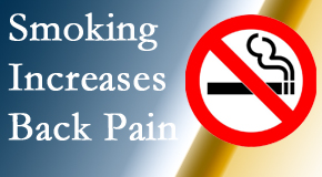 Aaron Chiropractic Clinic explains that smoking intensifies the pain experience especially spine pain and headache.