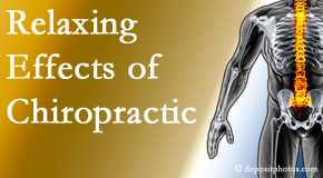 Aaron Chiropractic Clinic offers spinal manipulation for its calming effects for stress responses.