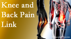 Aaron Chiropractic Clinic treats back pain and knee osteoarthritis to help prevent falls.