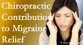 Aaron Chiropractic Clinic use gentle chiropractic treatment to migraine sufferers with related musculoskeletal tension wanting relief.