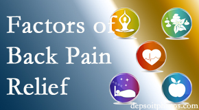 A few Fort Wayne back pain relief issues Aaron Chiropractic Clinic evaluates are exercise, balance, and movement.