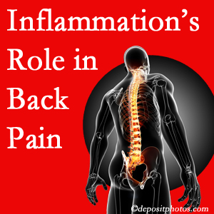 The role of inflammation in Fort Wayne back pain is real. Chiropractic care can help.