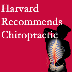 Aaron Chiropractic Clinic offers chiropractic care like Harvard recommends.