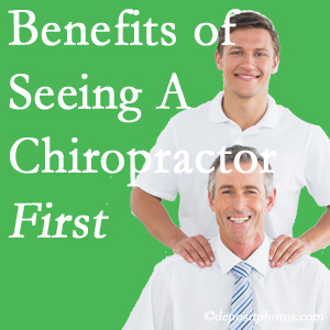 Getting Fort Wayne chiropractic care at Aaron Chiropractic Clinic first may reduce the odds of back surgery need and depression.