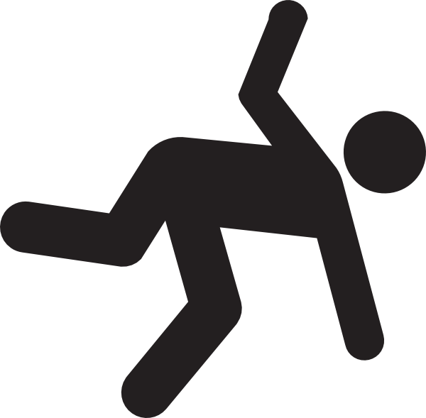 Image of person falling