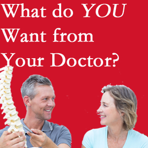 Fort Wayne chiropractic at Aaron Chiropractic Clinic includes examination, diagnosis, treatment, and listening!