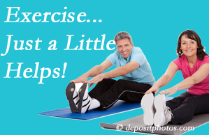 Aaron Chiropractic Clinic encourages exercise for improved physical health as well as reduced cervical and lumbar pain.