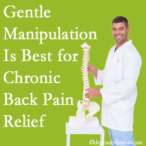 Gentle Fort Wayne chiropractic treatment of chronic low back pain is best.