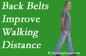 Aaron Chiropractic Clinic sees value in recommending back belts to back pain sufferers.