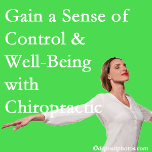 Using Fort Wayne chiropractic care as one complementary health alternative boosted patients sense of well-being and control of their health.