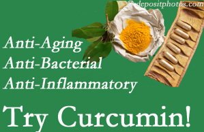 Pain-relieving curcumin may be a good addition to the Fort Wayne chiropractic treatment plan.