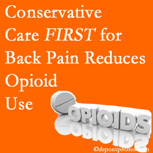 Aaron Chiropractic Clinic delivers chiropractic treatment as an option to opioids for back pain relief.