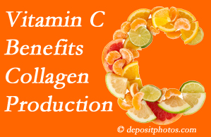 Fort Wayne chiropractic shares tips on nutrition like vitamin C for boosting collagen production that decreases in musculoskeletal conditions.