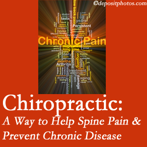 Aaron Chiropractic Clinic helps relieve musculoskeletal pain which helps prevent chronic disease.
